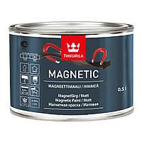 Магнитная краска, Магнетик, Magnetic, краска притягивает магниты 0,5л