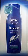 Пробники шампунь Nivea hairmilk(новинка) 9мл