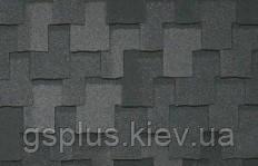 Черепица битумная IKO  - Armourshake Shadow Black