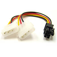 Кабель (Video power) 6pin to 2molex ATcom