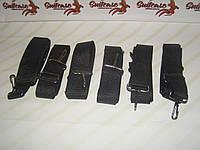 Наплечный ремень с прочными карабинами - темный никель (усиленный)
