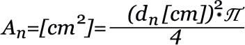 Формула на расчет усилиягидроцилиндра