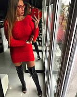 """Красное платье """"Травка"""""""