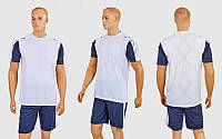 Футбольная форма Height  (PL, р-р M-XL, белый-серый, шорты серые), фото 1