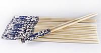 Палочки бамбук 24 см. раздельные россыпь, с рисунком