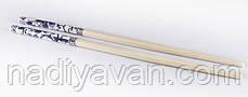 Палочки бамбук 24 см. раздельные россыпь, с рисунком, фото 2