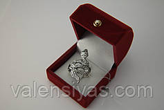 Серебряное кольцо Змея Гюрза, фото 3