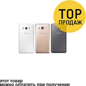 Задняя панель корпуса для мобильного телефона Samsung G7102, черная, AAA