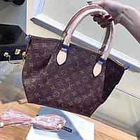 Брендовая женская сумка из натуральной кожи LOUIS VUITTON