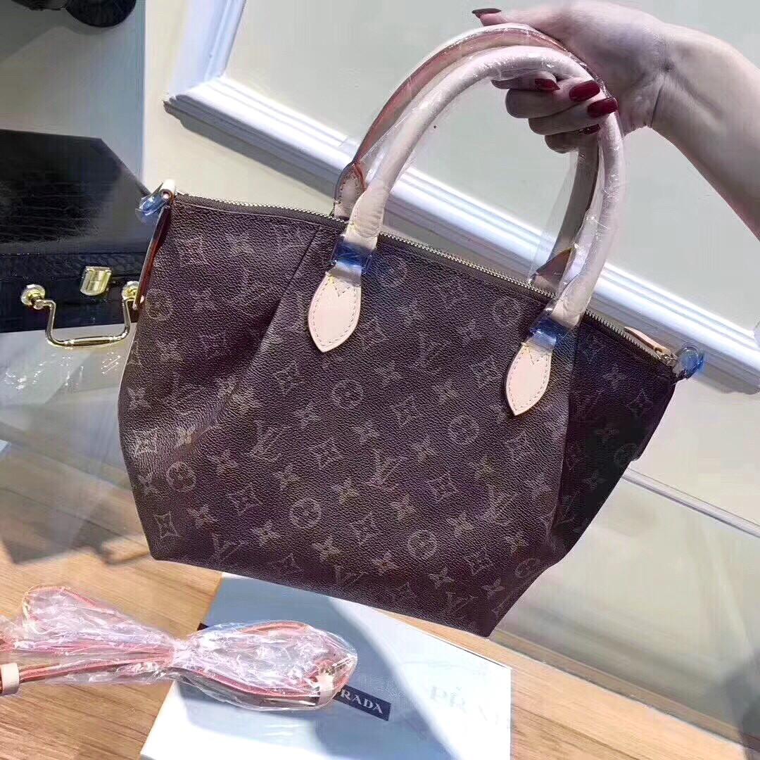 e40a34d2d9e7 Брендовая женская сумка из натуральной кожи LOUIS VUITTON - Люкс реплики брендовых  сумок, обуви в