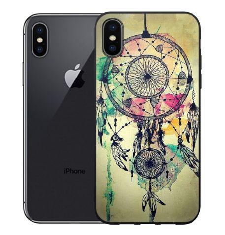 Чохол з картинкою (силікон) для Iphone X Ловець снів