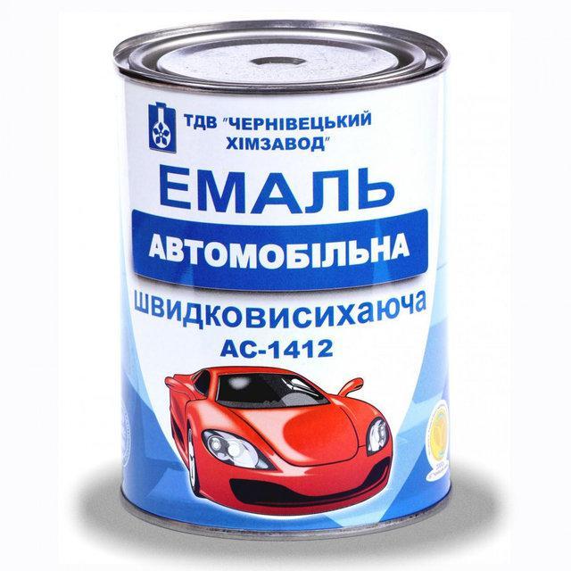 Эмаль А-1412 автомобильная быстросохнущая (зеленая)