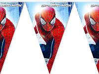 """Прапорці, вимпели """"Людина Павук"""". Довжина 2,5 метри"""