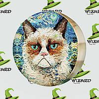 Подушка пуфик Grumpy cat