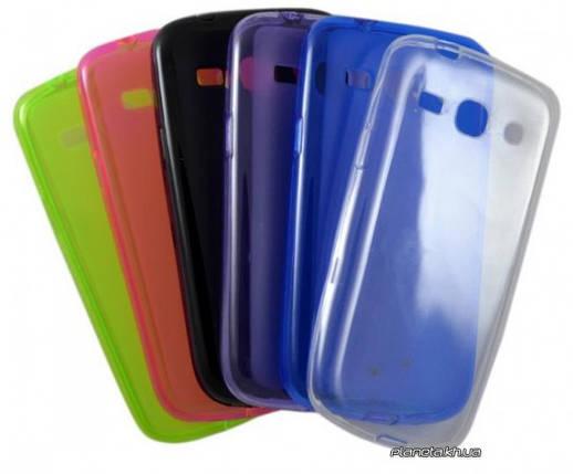 STD силиконовый чехол-накладка для Samsung G900 S5 0,3mm Std Green, фото 2
