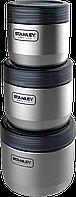 Набор пищевых контейнеров Stanley Adventure: 0,41 л, 0,65 л, 0,95 л 6939236332613