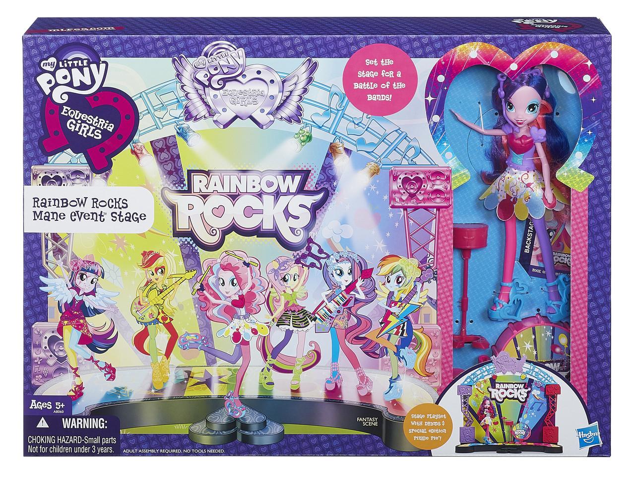 Игровой набор My Little Pony™ Рок-концерт Equestria Girls (A8060)