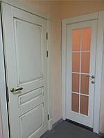 Двери деревянные в Киеве на заказ, двери из дерева натуральный массив.