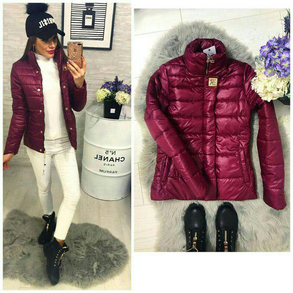 Куртка, модель 211/2, цвет - марсала