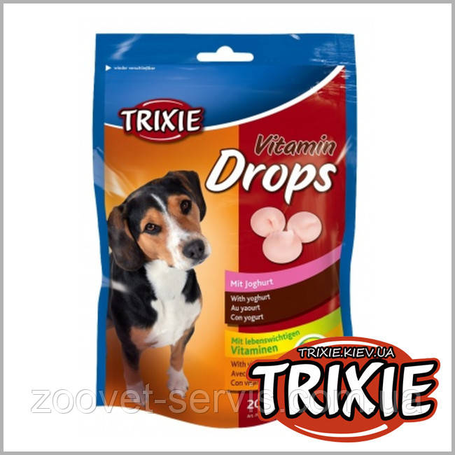 Витаины для собакДропс со вкусом йогурта TRIXIE 200г 31643