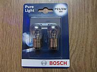 Автолампа P21/5W Pure Light комплект 2шт BOSCH 1 987 301 016
