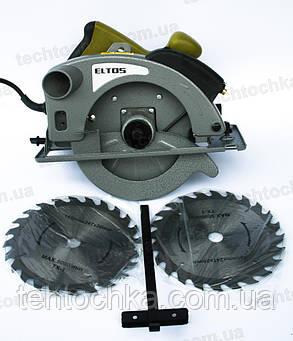 Циркулярка  ELTOS ПД - 185 - 1700 Л, фото 2