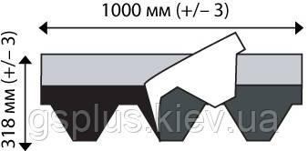 Бітумна черепиця IKO Armourshield Chapel Grey Ultra, фото 2