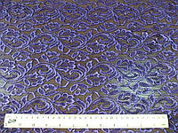 Гипюр - стрейч Шарлотта (фиолетовый) (арт. 10121) в отрезах