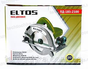 Циркулярка ELTOS ПД - 185 - 2100, фото 2