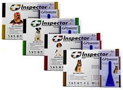 Капли от блох, клещей и глистов для собак Inspector Total C