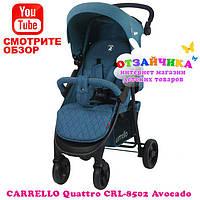 Детская Прогулочная Коляска Carrello Quattro CRL-8502, Avokado (ЛЁН)