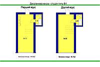 Двухярусные студии 55-65 м2 в готовом сданом доме
