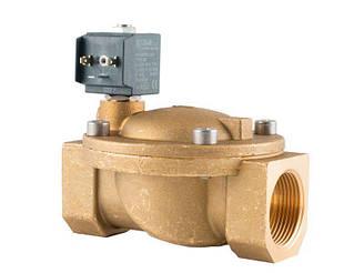 """Клапан 1-1/4"""", нормально закритий, 8617 NBR 230V 50 Hz, соленоїдний електромагнітний, CEME, Італія"""