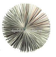 Щетка металлическая плоская для чистки дымохода люкс 250мм