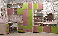 Детская модульная система Dori Pink (стенка)