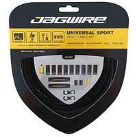 Комплект тросів перемикання + боуден Jagwire Універсальний Sport чорний