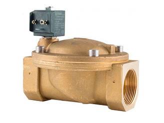 """Клапан 1-1/2"""", нормально-закрытый, 8618 NBR 230V 50 Hz, электромагнитный соленоидный CEME, Италия"""