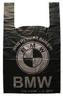 """Пакет Майка-7 43х68  """"BMW""""  (50шт)"""