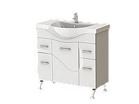 """Тумба для ванной комнаты """"Ювента"""", серия """"Франческа"""" 87 см, Ф4-87"""