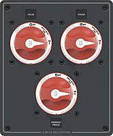 Металлическая панель управления батареями (House / Engine / Parallel)
