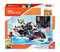 Мега Констуктор Миньоны Водный мотоцикл Грю Mega Construx Despicable Me 3 Gru's Water Motorcycle Building Set