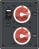 Панель на два размыкателя масс BlueSea Systems, фото 1