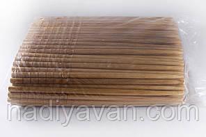 Бамбуковые палочки 24см, россыпь / фигурный конец, фото 3