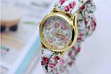 Женские часы с тканевым ремешком, фото 3