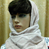 Ismena  снуд Kamea,полушерстяной, цвет пудры, фото 1