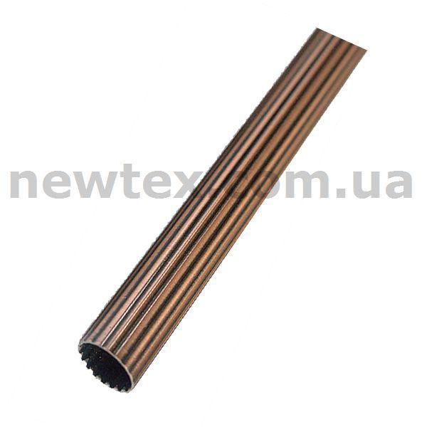 Труба Рифленая для кованого карниза 19 мм