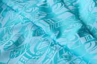 Слинг-шарф YAROSLINGS Yaro Four Winds Arctic-Blue White Organic (4,6 м), фото 1