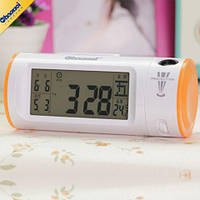Цифровые часы с ЖК-дисплеем, подсветкой и проекцией времени, CHAOWEI® Digital LCD Dual Projection, фото 1