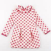 Платье детское розовое капитон
