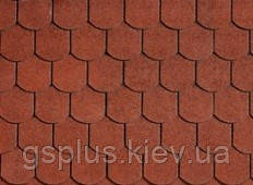 Черепица битумная — BiberShield Tile Red, фото 2